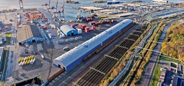 Port of Gothenburg starts construction of cross-docking terminal