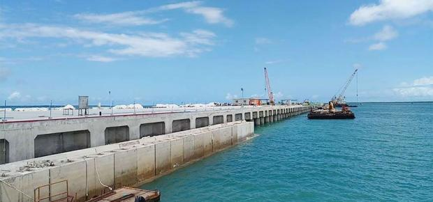 First berth open at Lamu
